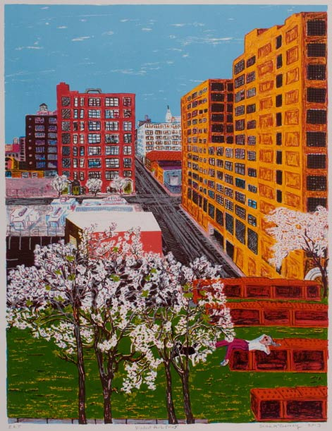 "Image of ""Viaduct Park Print"""